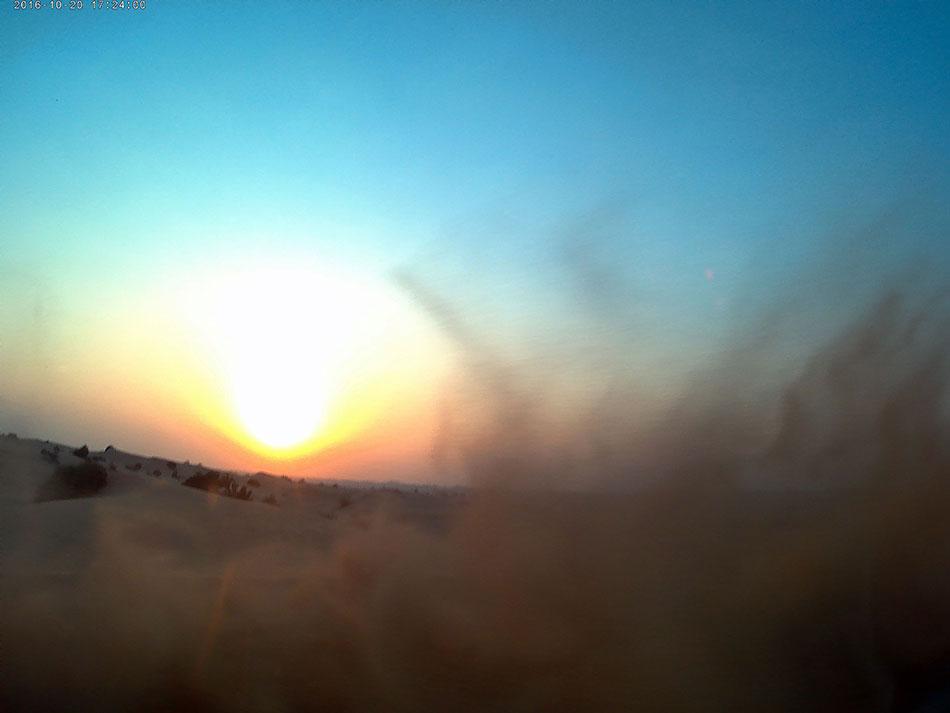 Drifts dans le désert de Dubaï aux Emirats Arabes Unis