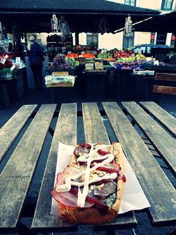 Manger un bon snack polonais à Cracovie