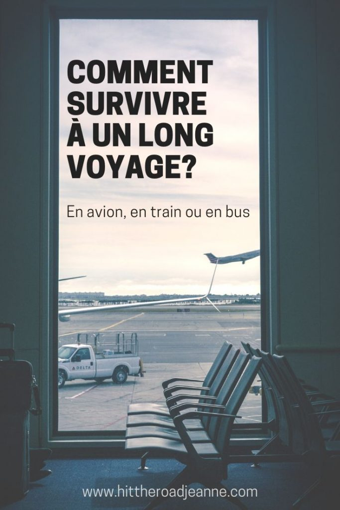 Comment survivre à un long voyage en avion, en train ou en bus?
