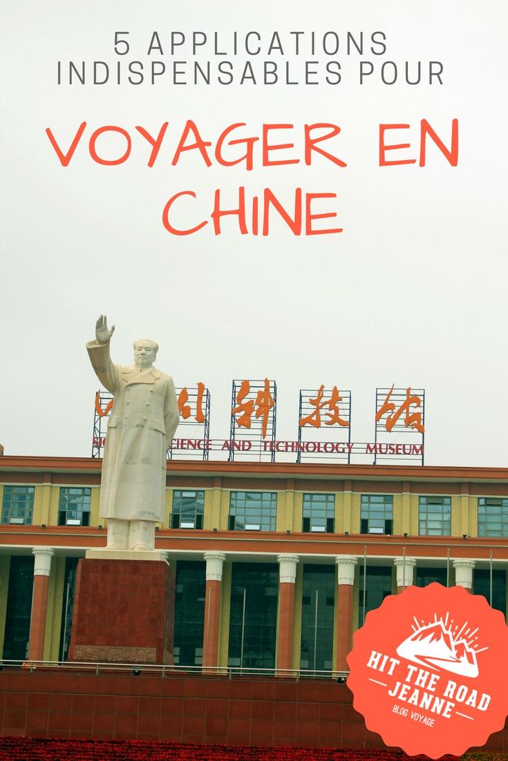 Les 5 applications indispensables pour voyager en Chine