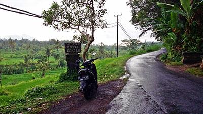 Le scooter est le meilleur moyen de se déplacer à Bali