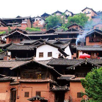 Nuodeng, village du Yunnan en Chine