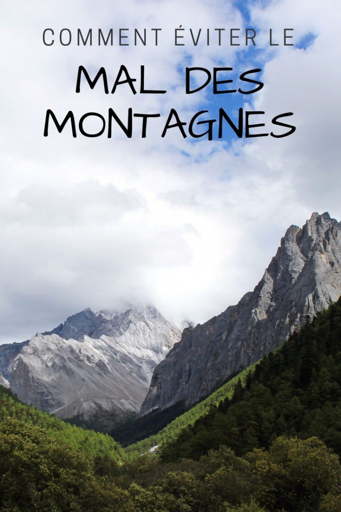 Comment éviter le mal des montagnes