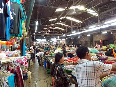 Parmi les 5 choses que j'aime à Phnom Penh: les marchés