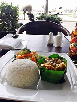 Il existe un très large choix de nourriture à Phnom Penh