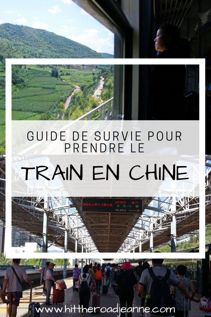 Prendre le train en Chine: le guide de survie
