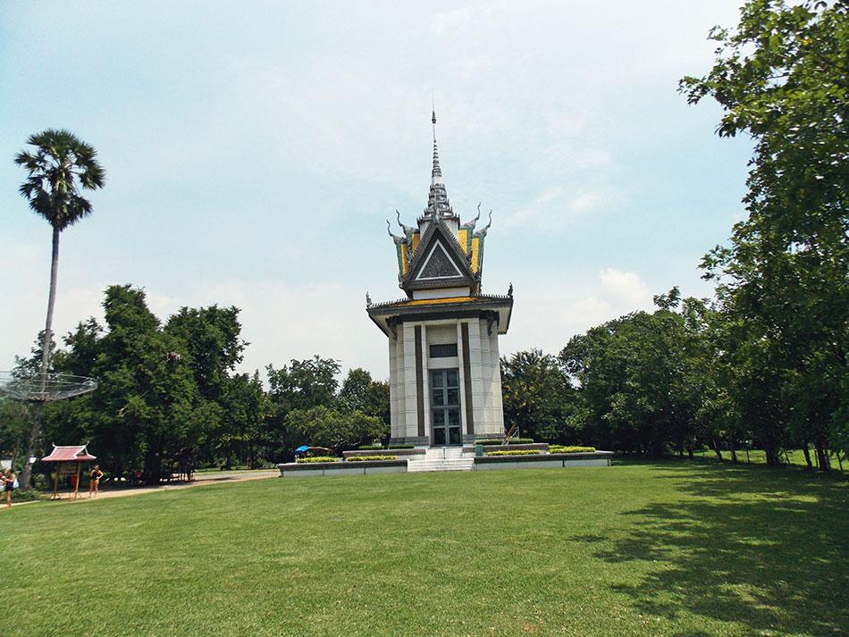 Cimetière de Choeung Ek à Phnom Penh