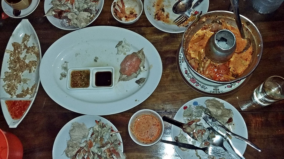 Le restaurant Koh Mak Seafood est une des meilleures adresses de l'île.