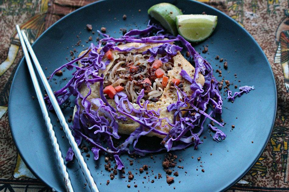 Recette du pad thai végétarien avec Chef An