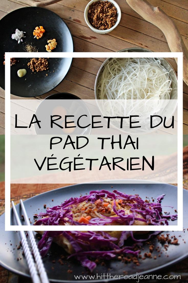 La recette du pad thai végétarien selon la Chef thaïlandaise An