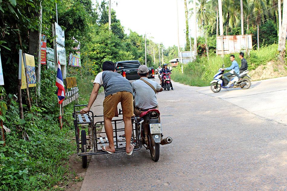 L'île de Koh Kood en Thaïlande s'est ouverte au tourisme seulement à la fin des années 90.