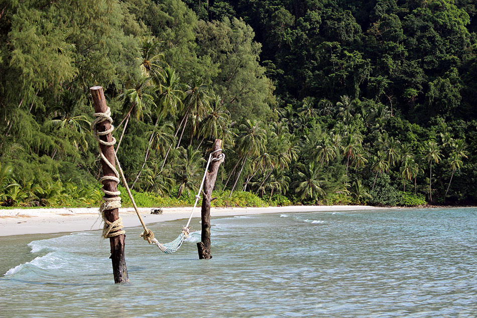 Plage face au Neverland resort à Koh Kood en Thaïlande