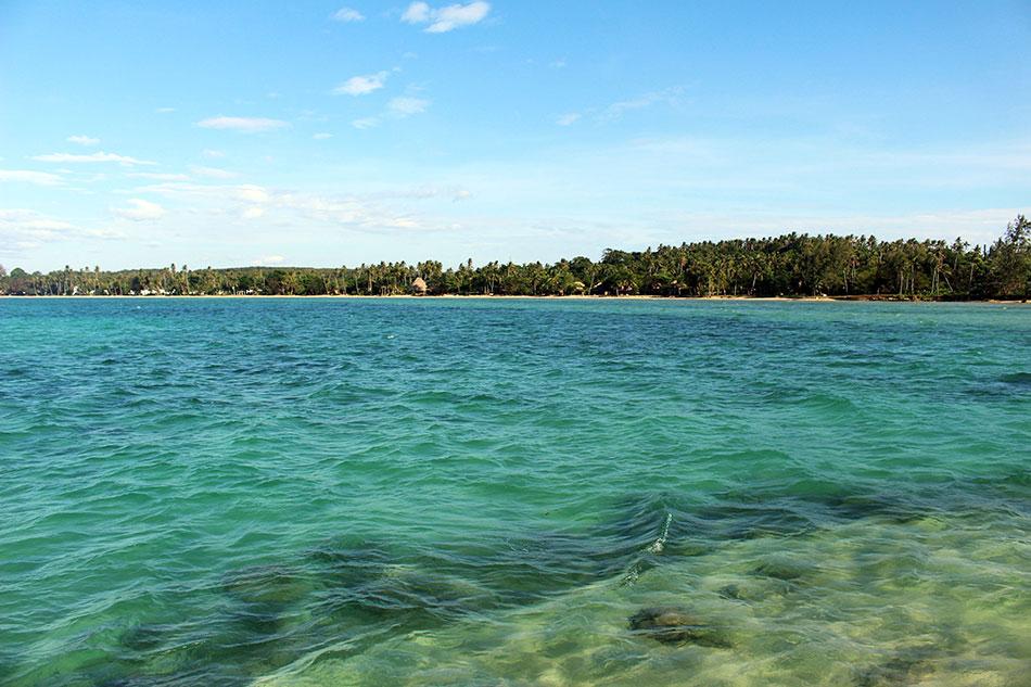 Faire du paddle permet d'avoir de très beaux points de vue sur les plages de Koh Mak.