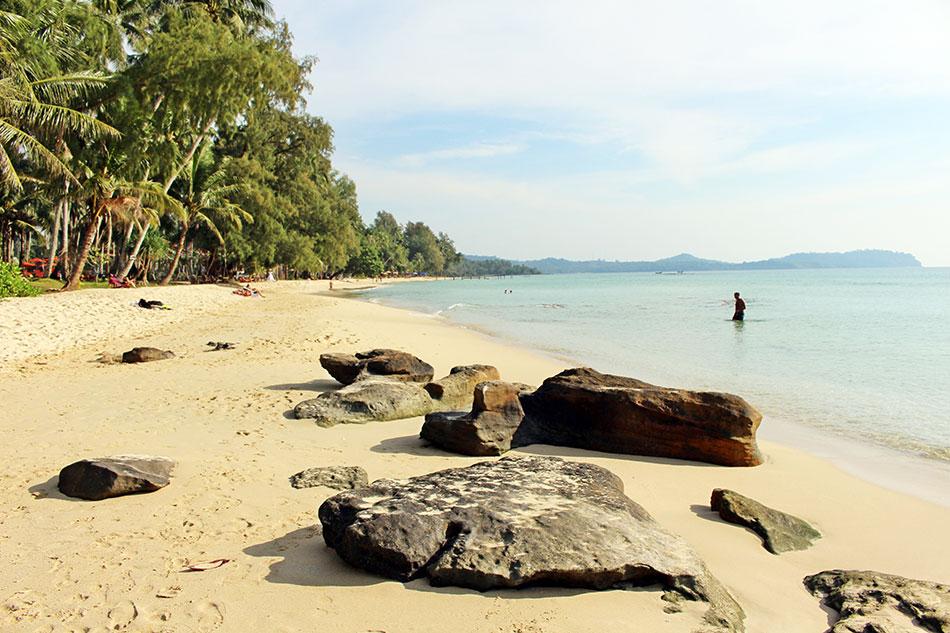 Les plages de Koh Kood ont tout pour faire rêver: sable blanc, eau turquoise, cocotiers et calme.