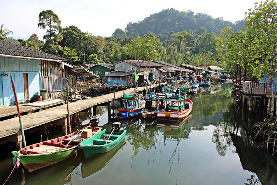 Le petit village de pêcheurs d'Ao Salad à Koh Kood est resté calme et préservé.