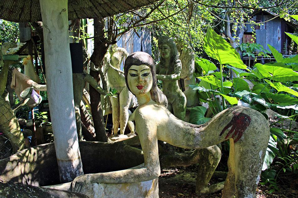 Le Royaume de Somchai sur l'île de Koh Mak est un lieu très érotique.