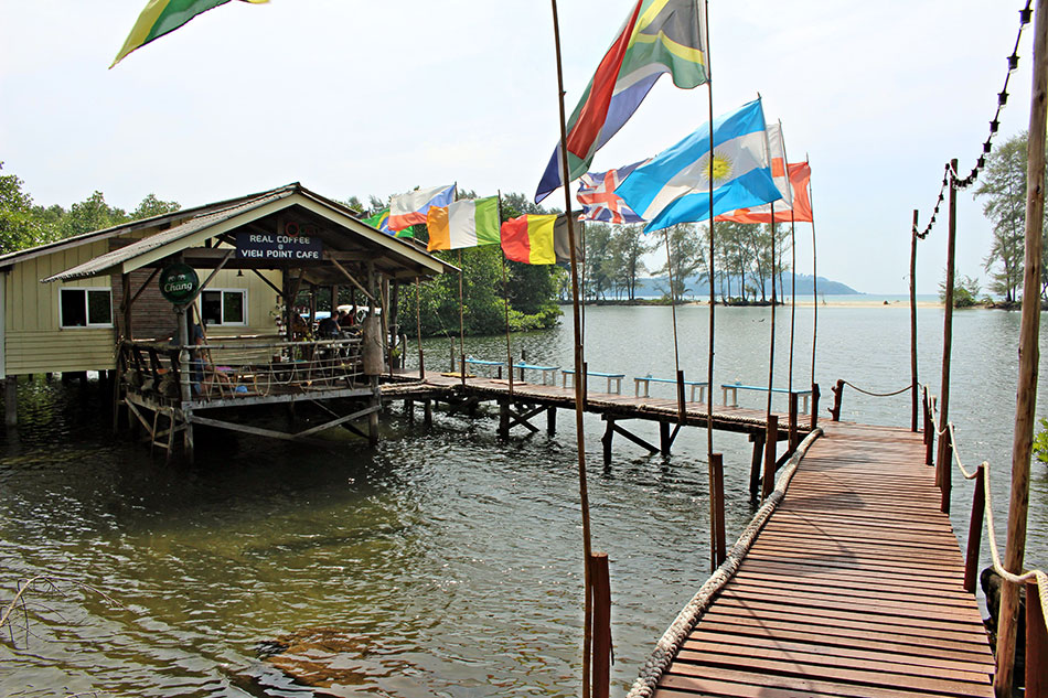 Le View Point Cafe fait partie des bonnes adresses de Koh Kood