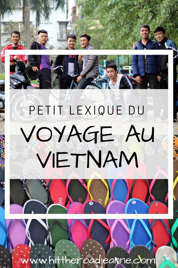 Petit lexique du voyage au Vietnam