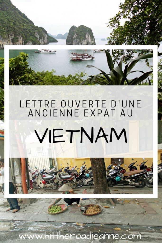 Lettre ouverte d'une ancienne expatriée au Vietnam
