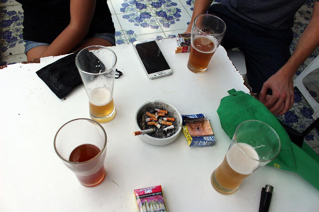 Bières artisanales à Chitbeer au Nord de Bangkok