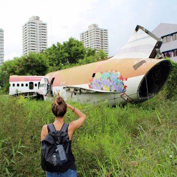 Cimetière d'avions à Bangkok