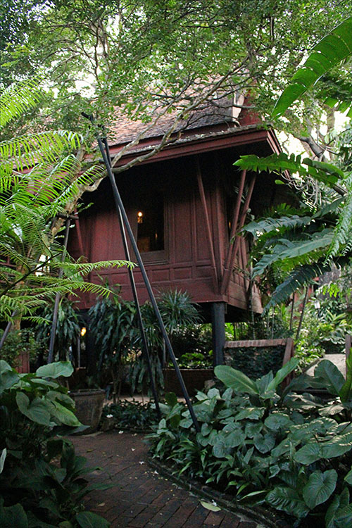 Parmi les visites qui valent le coup à Bangkok: la maison de Jim Thompson