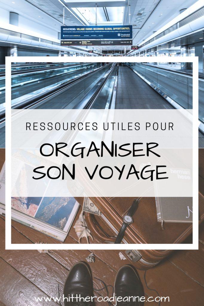 Ressources utiles pour organiser son voyage