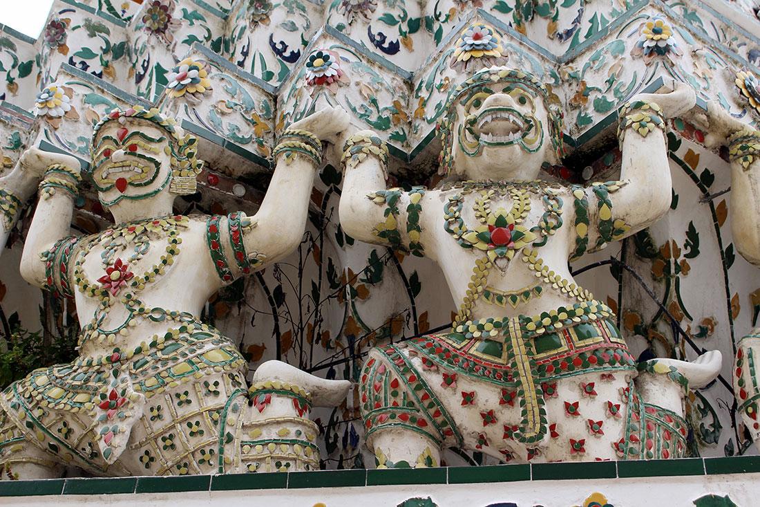 Que faire à Bangkok? Ne ratez pas la visite de Wat Arun.
