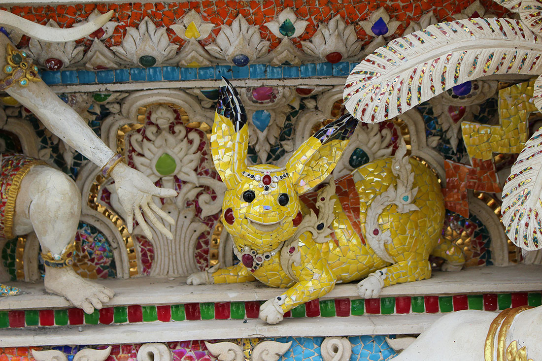 Que voir d'insolite à Bangkok? Un temple dédié à David Beckham et Pikachu par exemple...