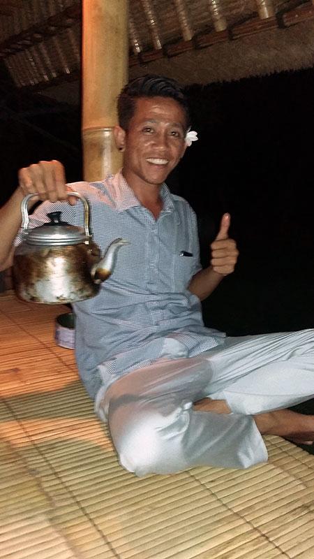 Boire le twak à Sidemen (Bali, Indonésie)