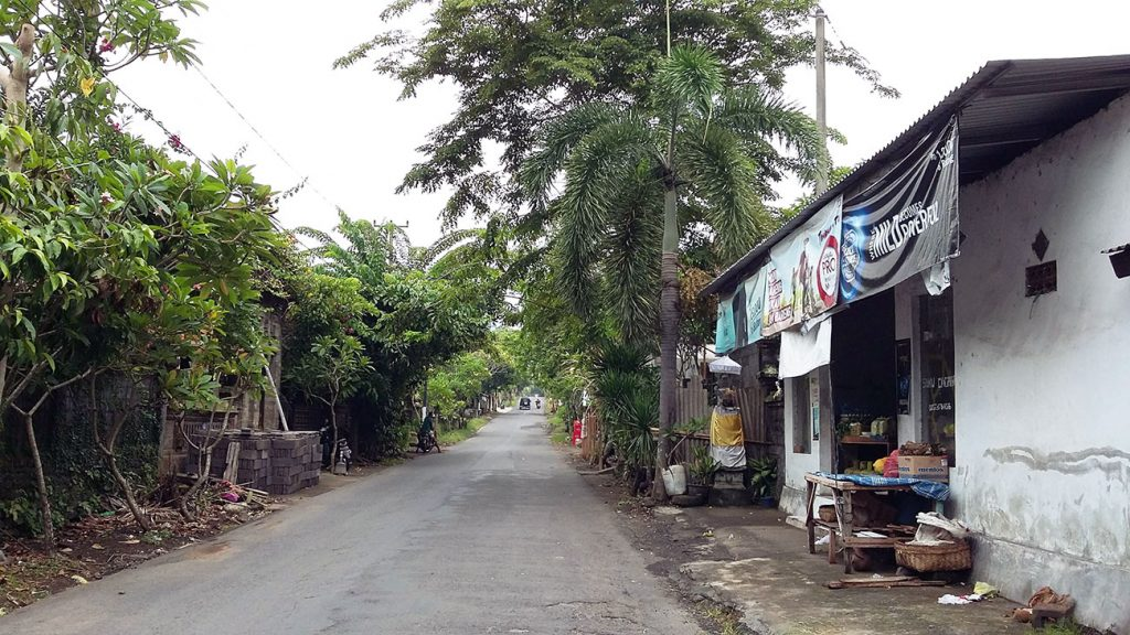 Petit warung à Sidemen (Bali, Indonésie)