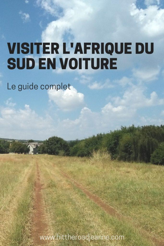 Visiter l'Afrique du Sud en voiture: le guide complet