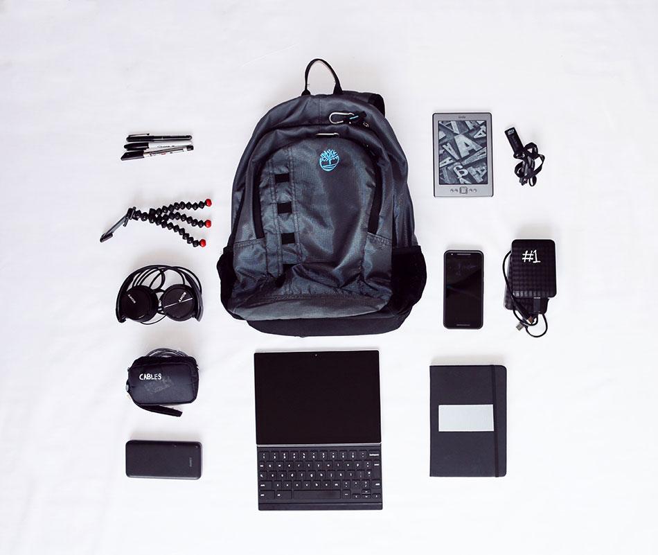 Pour bien voyager, avoir le bon matériel est important.