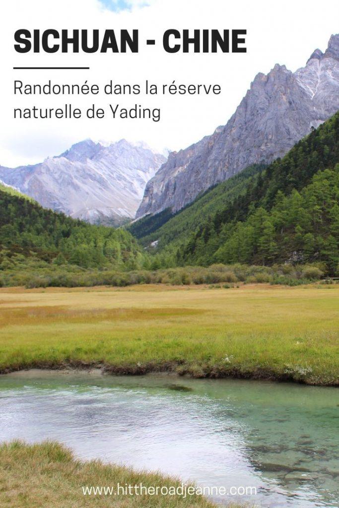 Randonnée dans la réserve naturelle de Yading (Sichuan, Chine)
